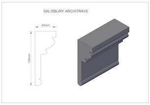 Salisbury-Architrave small