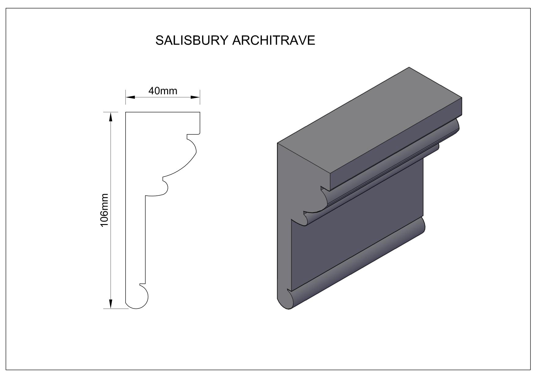 Salisbury-Architrave large