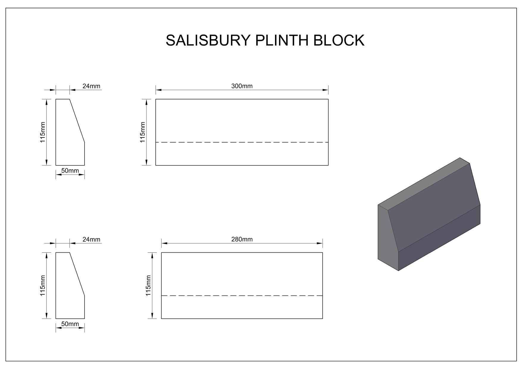 Salisbury-Plinth-Block