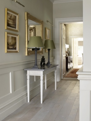 fitted joinery console table