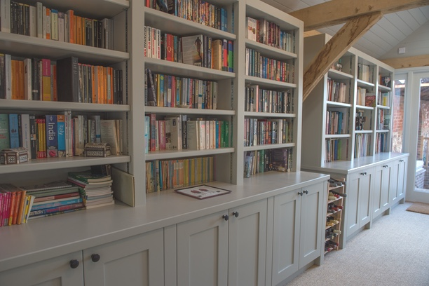 fitted joinery bookcase image 4