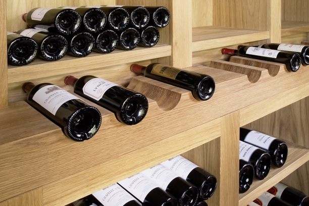 Fitted joinery wine storage image 5