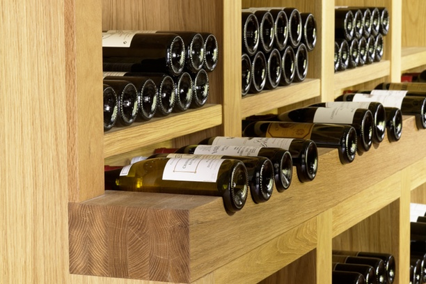 Fitted Joinery Wine Storage image 1